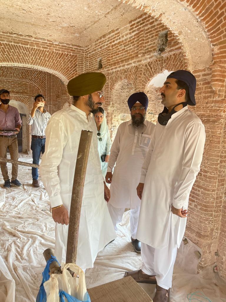 Visited Gurdwara Choa Sahib Jhehlum